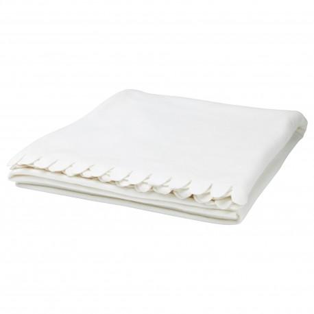 پتوی رومبلی رنگ سفید ایکیا POLARVIDE