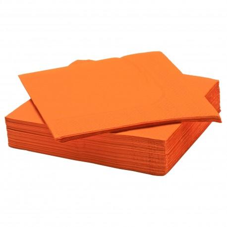 دستمال کاغذی نارنجی 50تایی ایکیا FANTASTISK