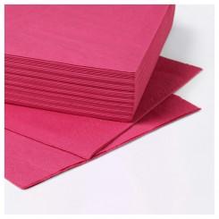 دستمال کاغذی ایکیا رنگ صورتی FANTASTISK