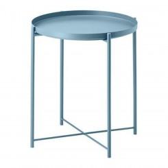میز عسلی ایکیا رنگ آبی GLADOM