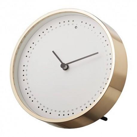 ساعت رومیزی طلایی ایکیا PANORERA