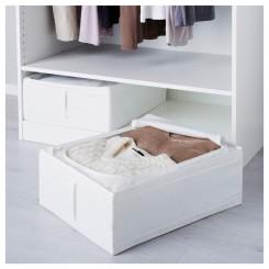 باکس زیپ دار ایکیا رنگ سفید SKUBB