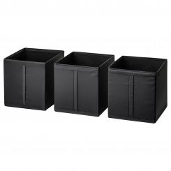 باکس سه عددی ایکیا رنگ مشکی SKUBB