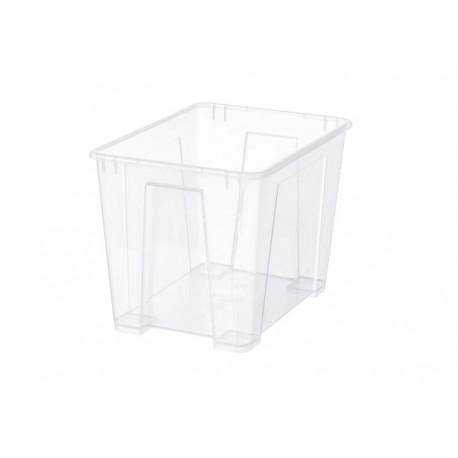باکس شفاف ایکیا سایز متوسط SAMLA