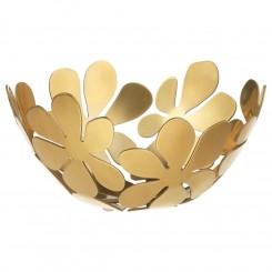 ظرف میوه ایکیا طرح گل طلایی STOCKHOLM
